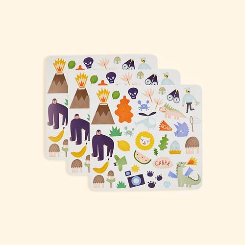 Jungle Olli Ella Playpa Stickers