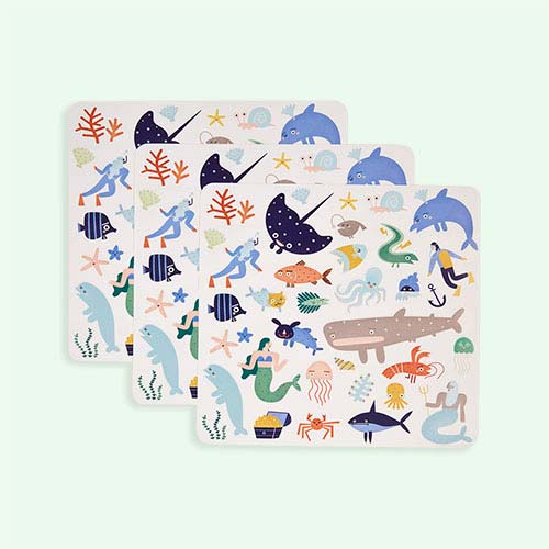 Ocean Olli Ella Playpa Stickers