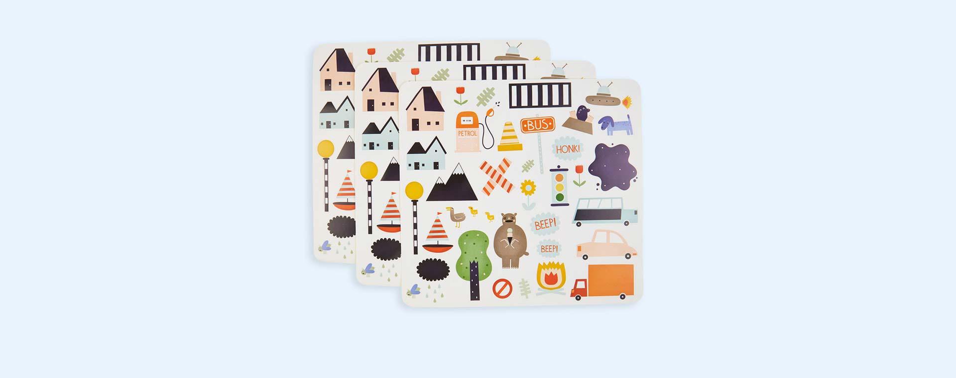 Road Olli Ella Playpa Stickers