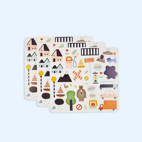 Road Olli Ella Playpa Stickers