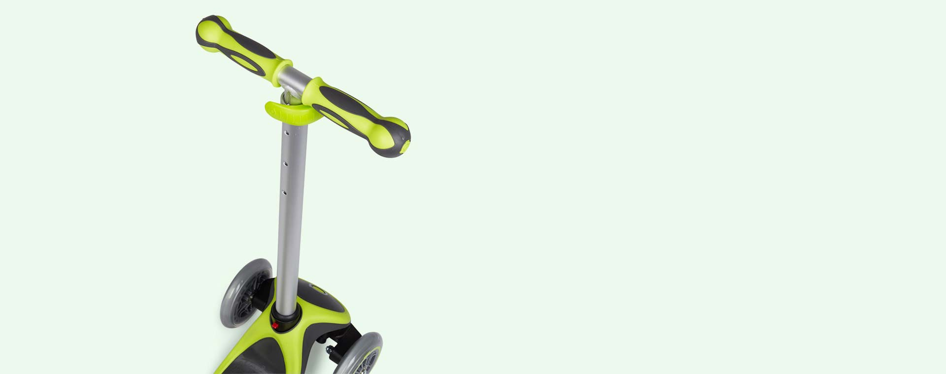 Lime Green Globber Evo 4-in-1 Scooter Plus Light