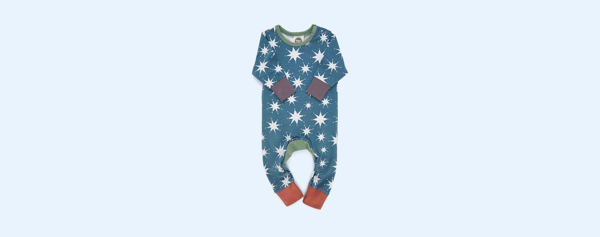 Christmas Stars The Bright Company Monty Sleepsuit