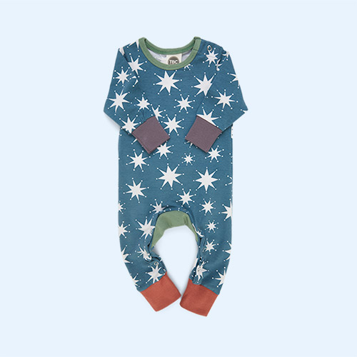 Christmas Stars The Bright Company Monty Sleepsuit