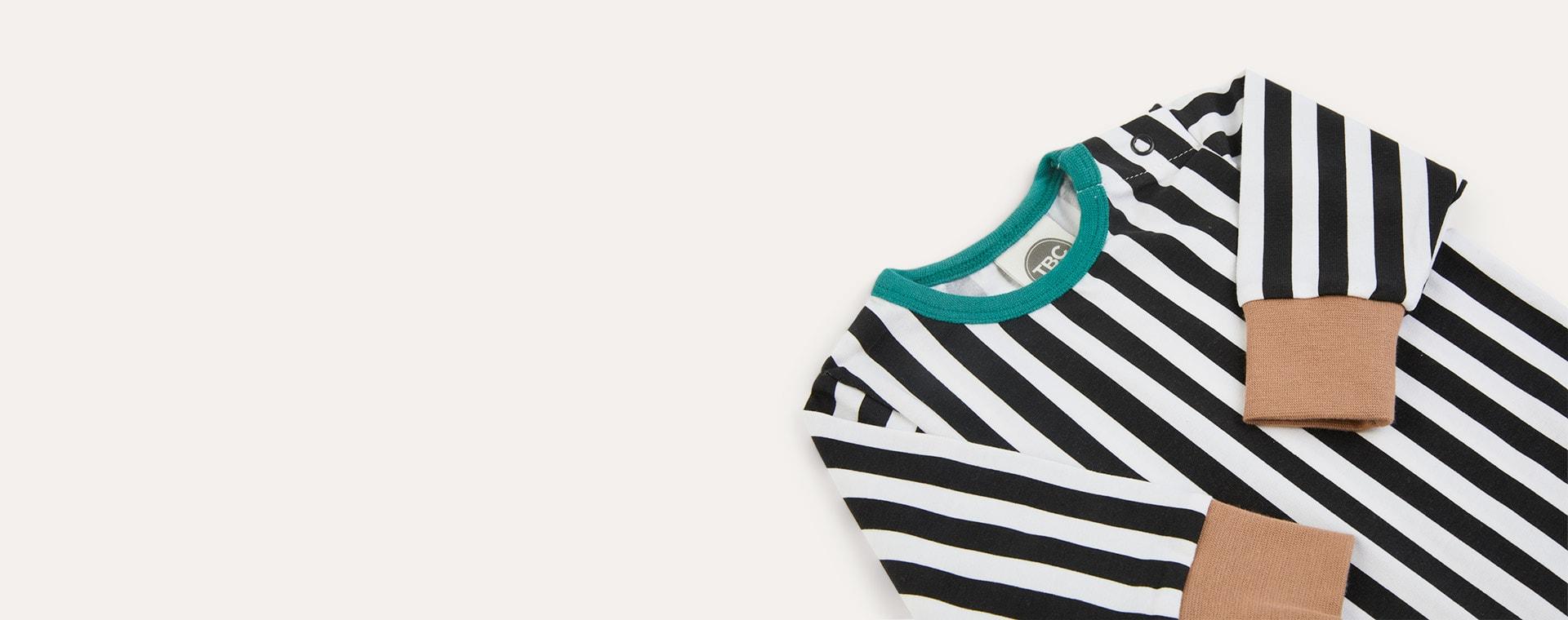 Stripe The Bright Company Monty Sleepsuit