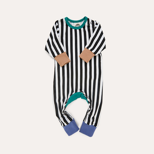 Stripe The Bright Company Monty Sleepsuit