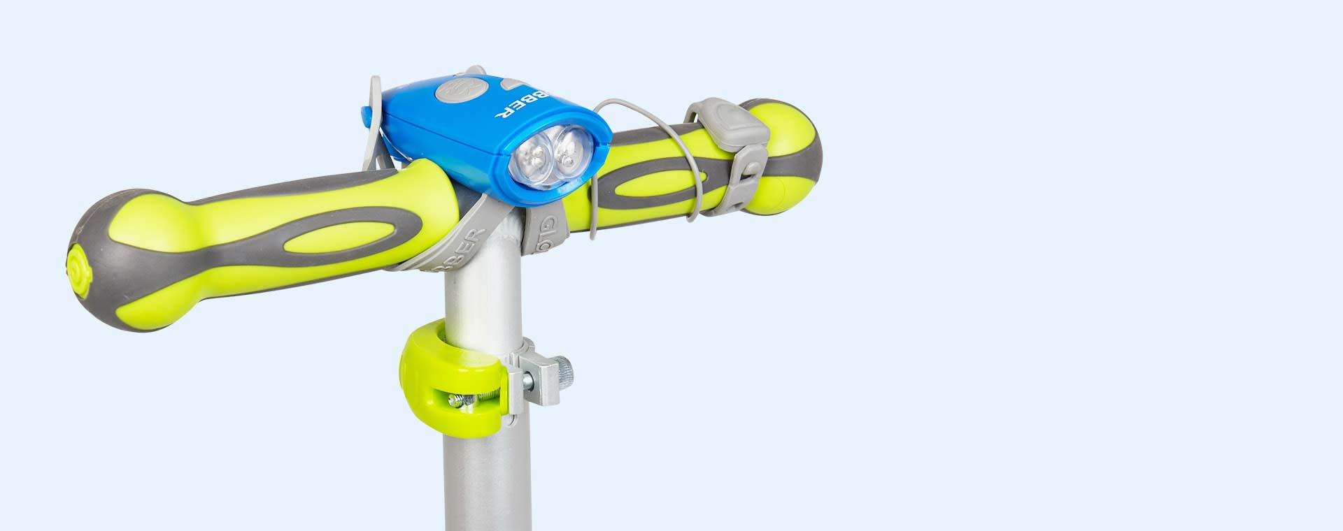 Navy Blue Globber Mini Hornit Bike Light
