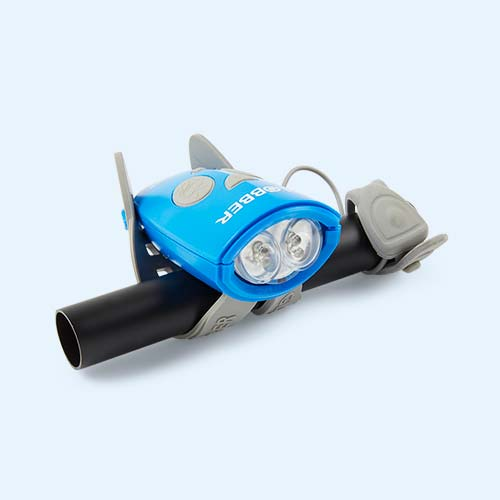 Navy Blue Globber Mini Hornit Bike Light