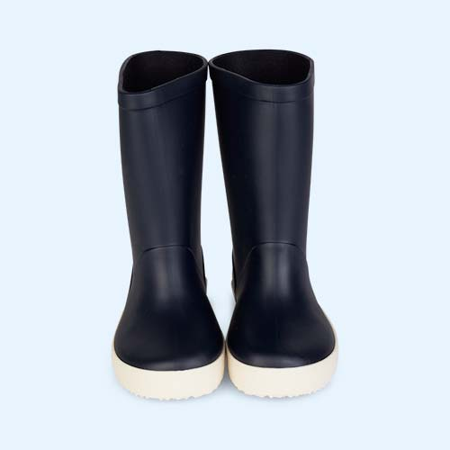 Navy igor Splash Nautico Wellies