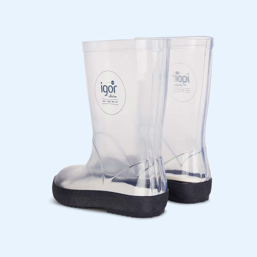 Clear igor Splash Nautico Wellies