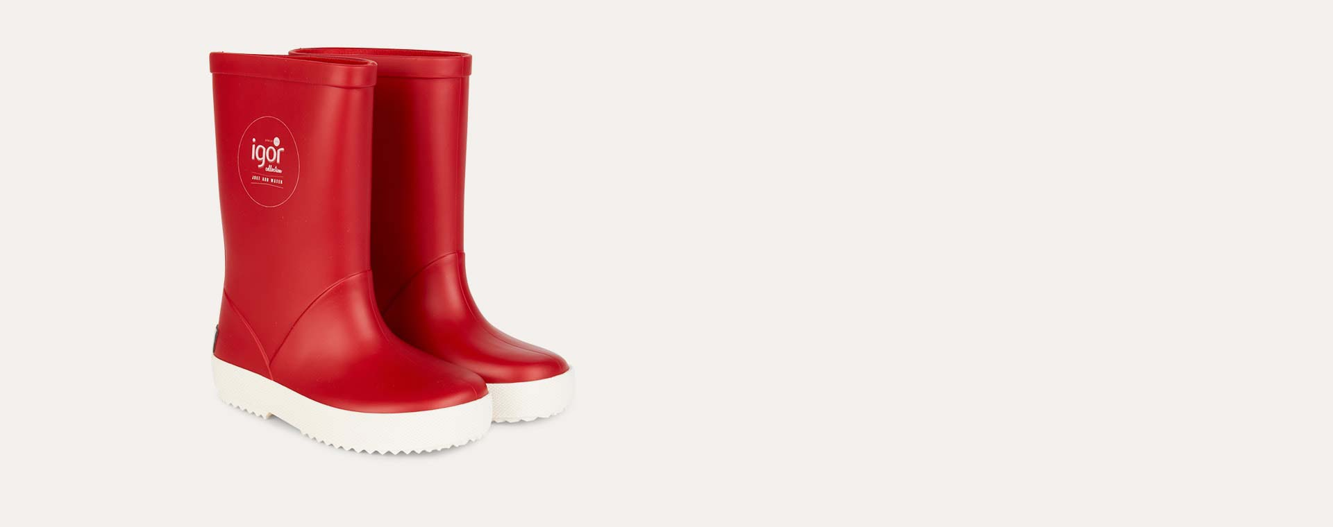 Red igor Splash Nautico Wellies