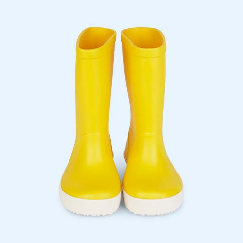 Yellow igor Splash Nautico Wellies