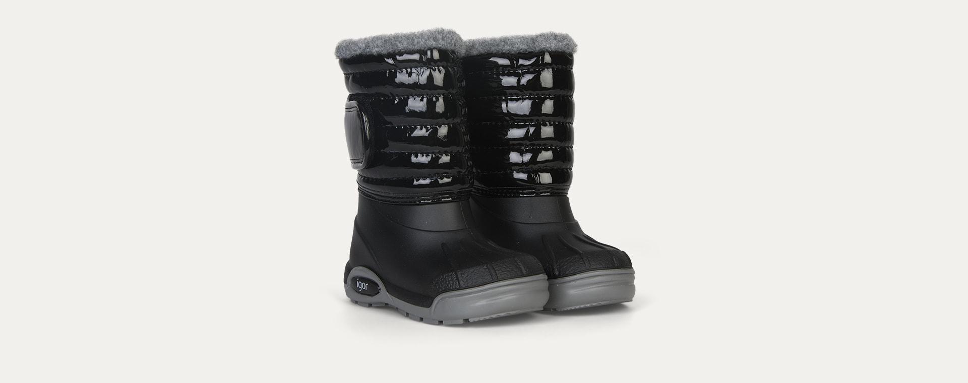Black igor Topo Ski Boot