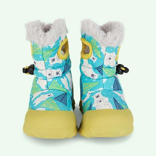 Aqua Bears Bogs B Moc Bears Snow Boots