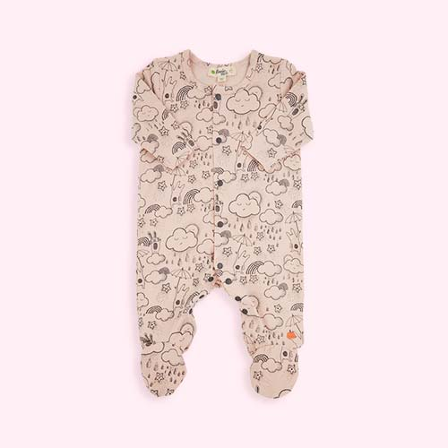 Pink The Bonnie Mob Sleepsuit
