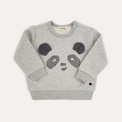 Grey The Bonnie Mob Panda Sweatshirt