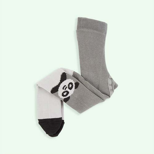 Grey The Bonnie Mob Panda Tights