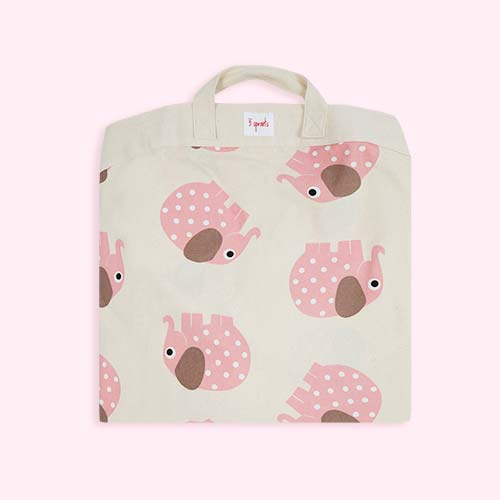 Elephant 3 Sprouts Playmat Bag