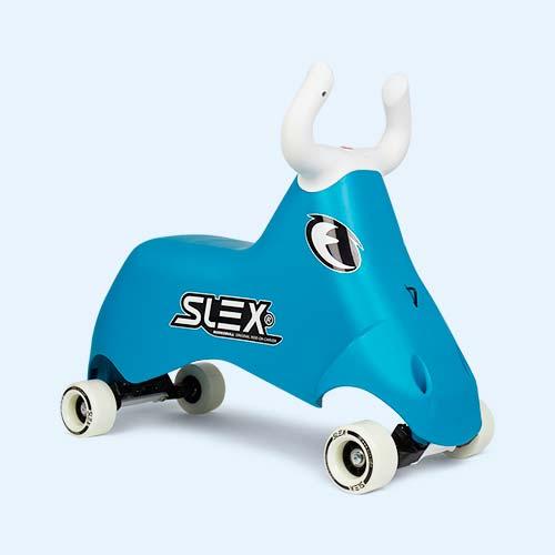 Blue SLEX Rodeobull Ride-On