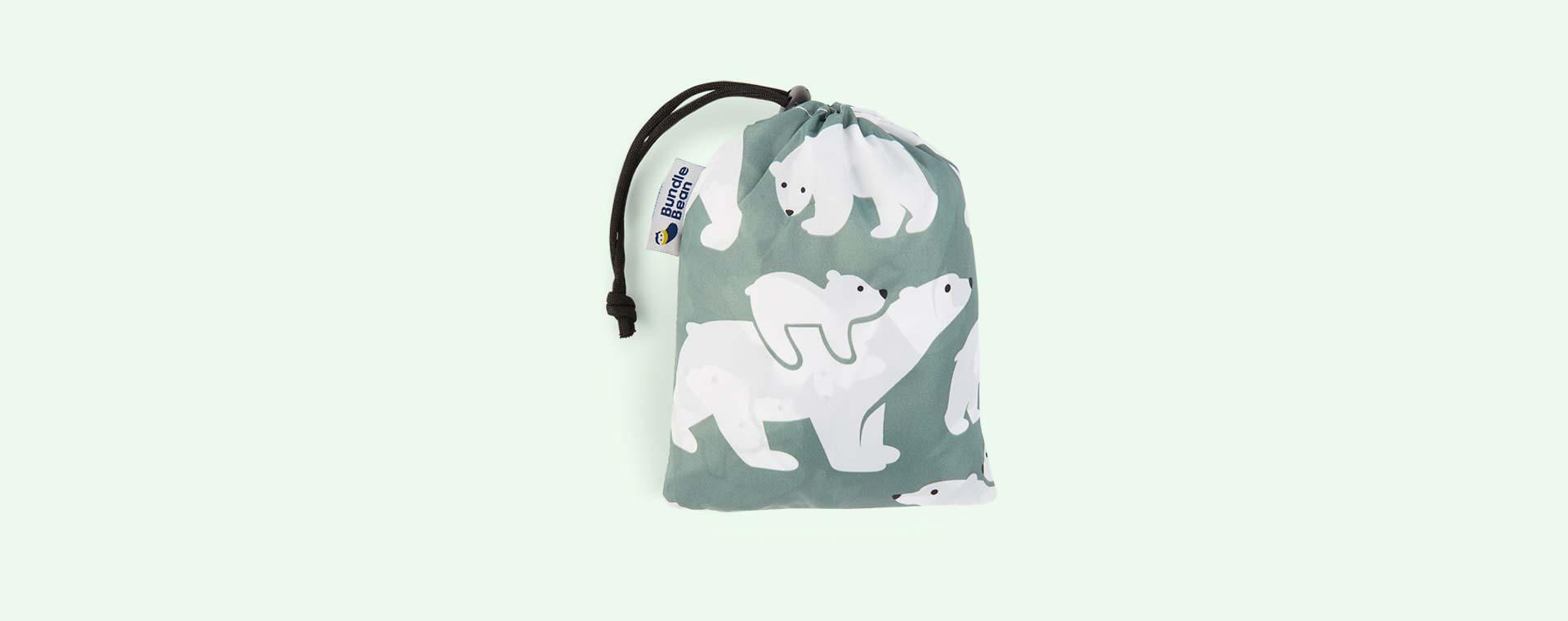 Polar bear Bundle Bean Babywearing Raincover