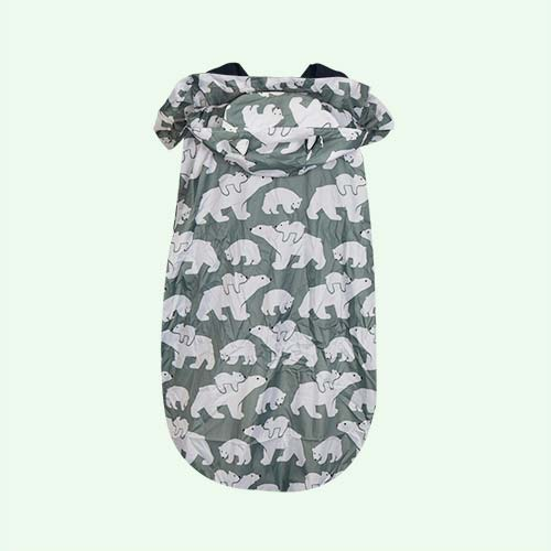 Polar bear Bundle Bean Babywearing Raincover