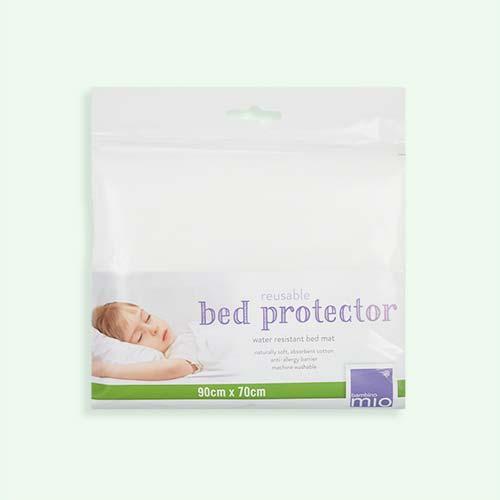 White Bambino Mio Bed Protector