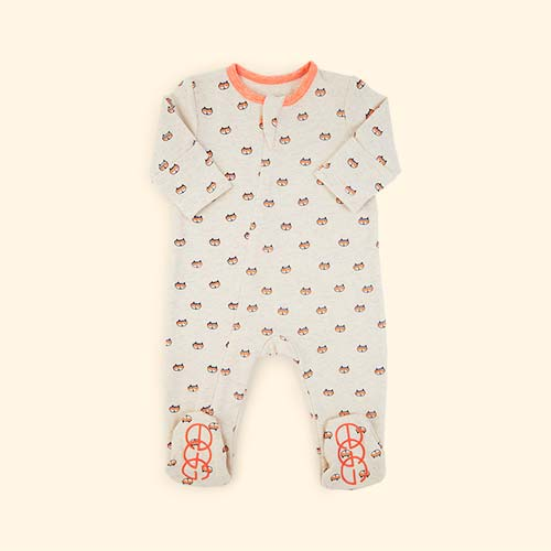 Neutral Egg by Susan Lazar Fox Print Sleepsuit
