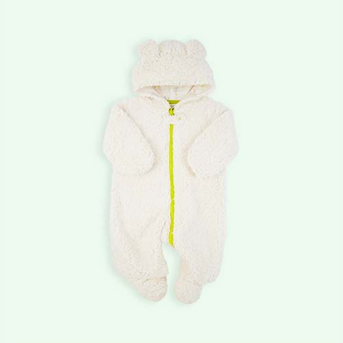 Cream Egg by Susan Lazar Little Cream Bear Snowsuit