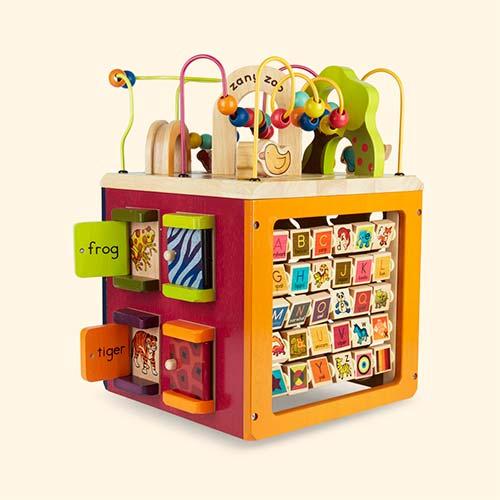 Multi B. toys Zany Zoo Activity Cube