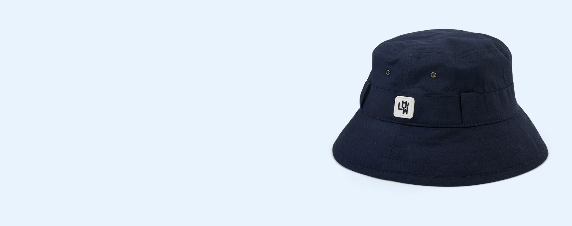 Navy Little Hotdog Watson The Adventurer Bucket Hat