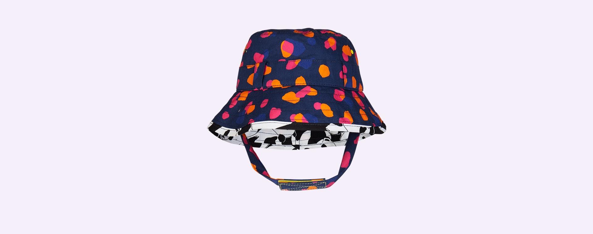 Navy Kin Little Hotdog Watson The Adventurer Bucket Hat