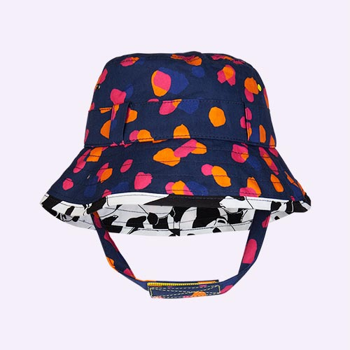 Navy Kin Little Hotdog Watson The Adventurer Bucket Hat