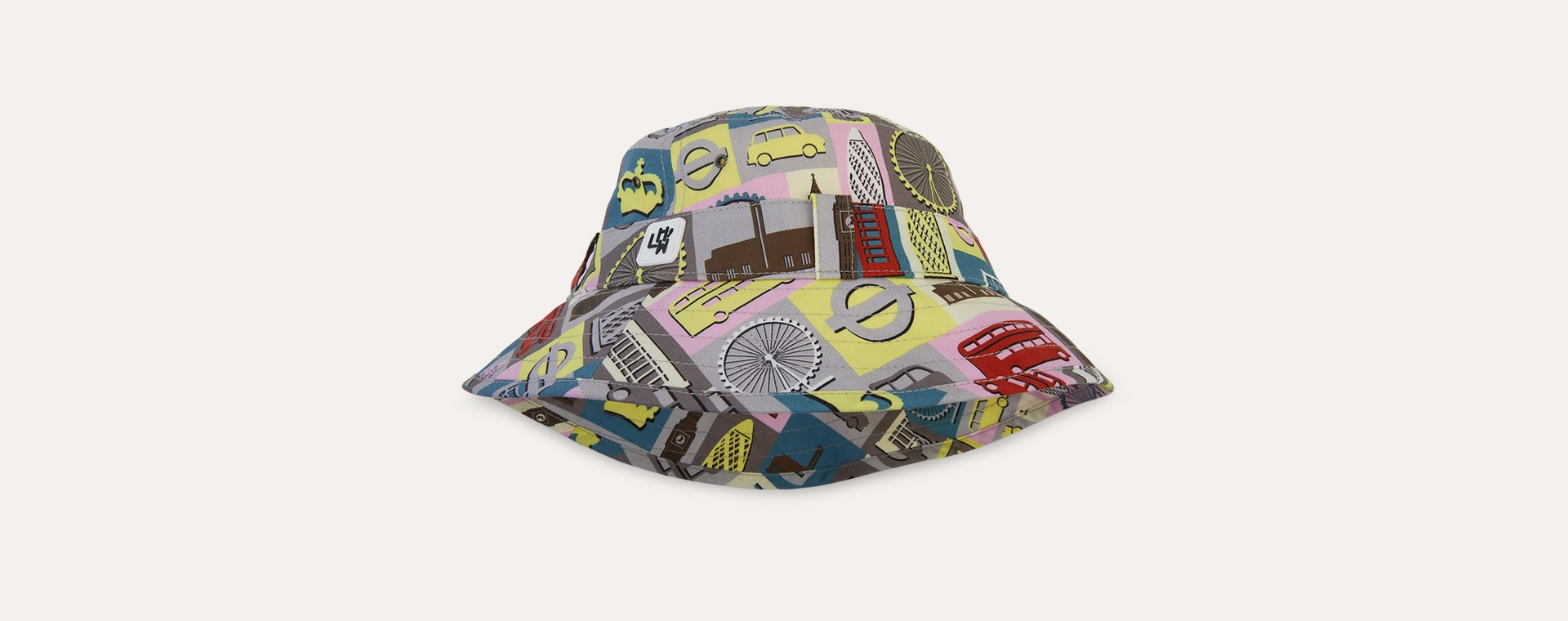 London Little Hotdog Watson The Adventurer Bucket Hat