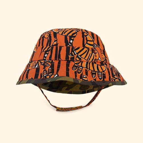 Tiger King Little Hotdog Watson The Adventurer Bucket Hat