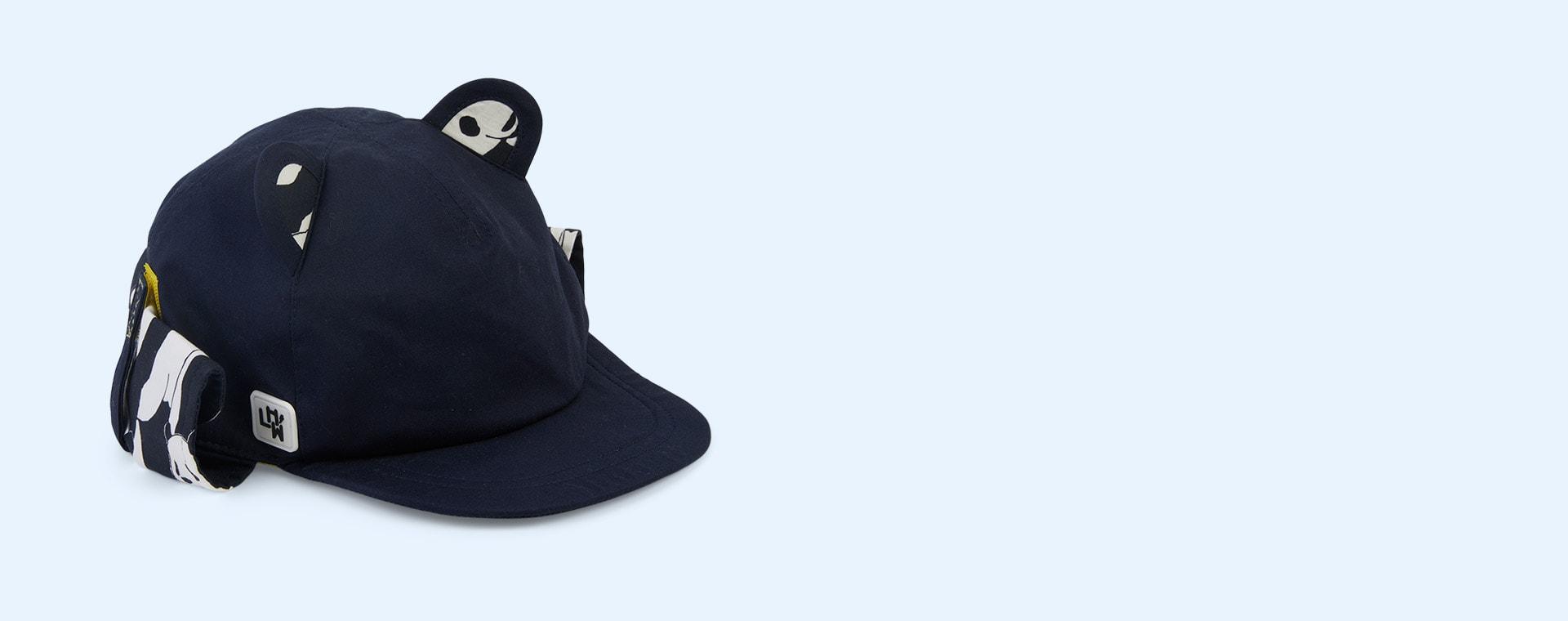 Navy Little Hotdog Watson The Cub Baseball Hat