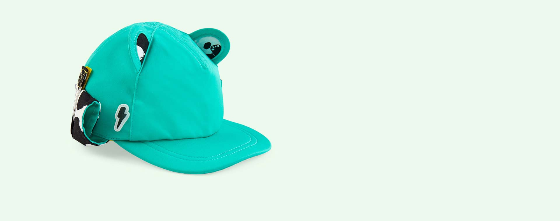 Turquoise Little Hotdog Watson The Cub Baseball Hat