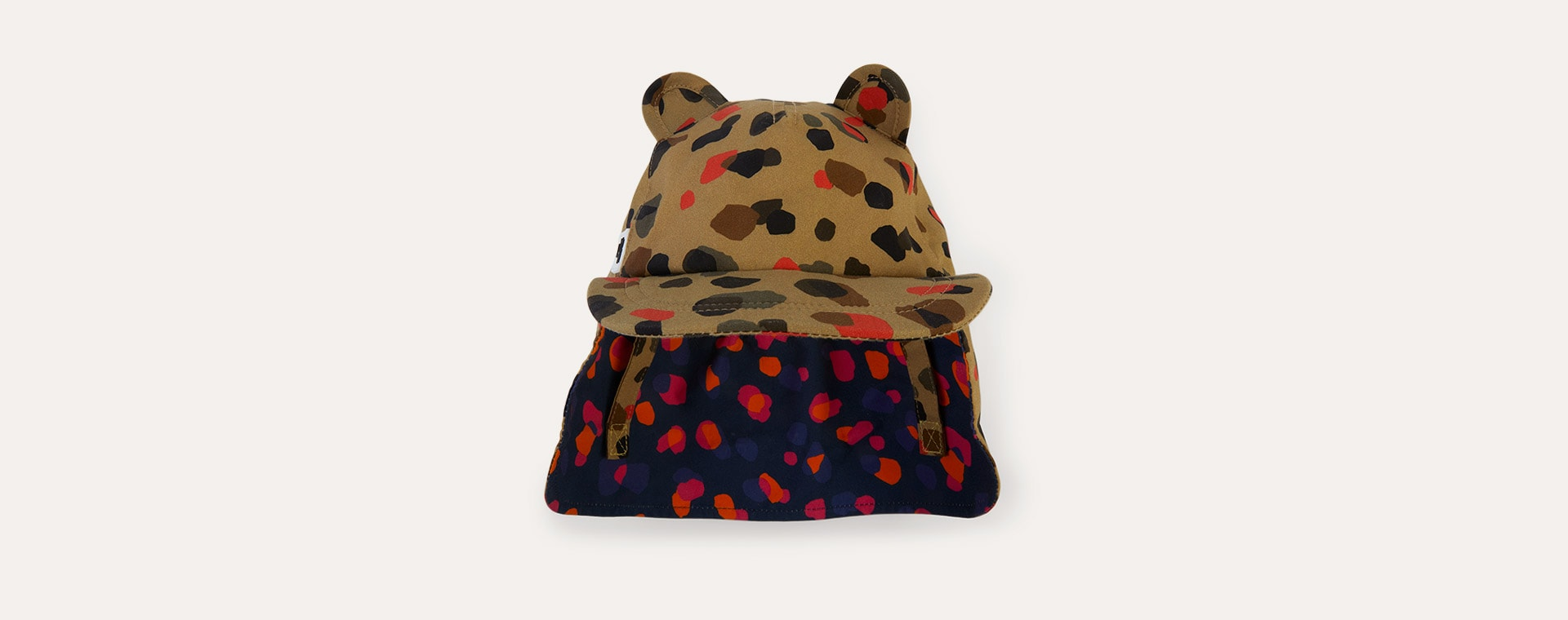 Leopard Neutral Little Hotdog Watson The Cub Baseball Hat