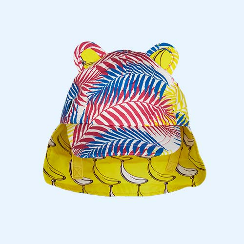 Tropical Little Hotdog Watson The Cub Baseball Hat