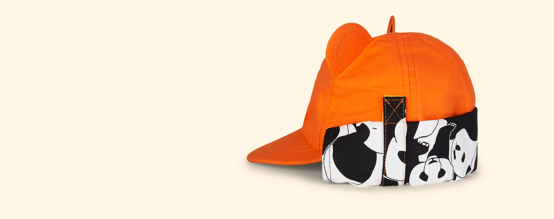 Orange Little Hotdog Watson The Cub Baseball Hat