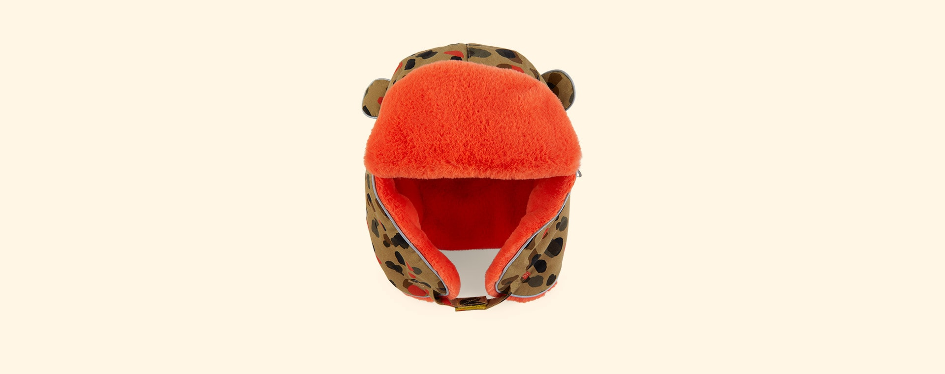Leopard Neutral Little Hotdog Watson The Arctic Cub Hat