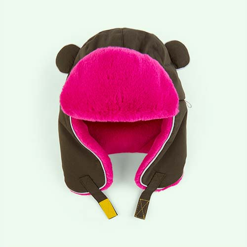 Khaki Pink Little Hotdog Watson The Arctic Cub Hat
