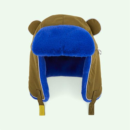 Light Khaki With Blue Fur