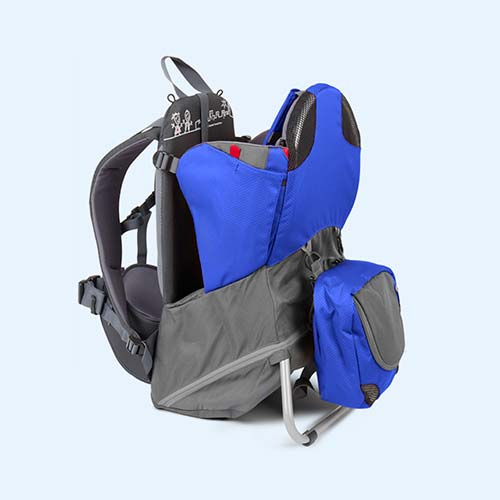 Blue Grey phil&teds Parade Back Carrier