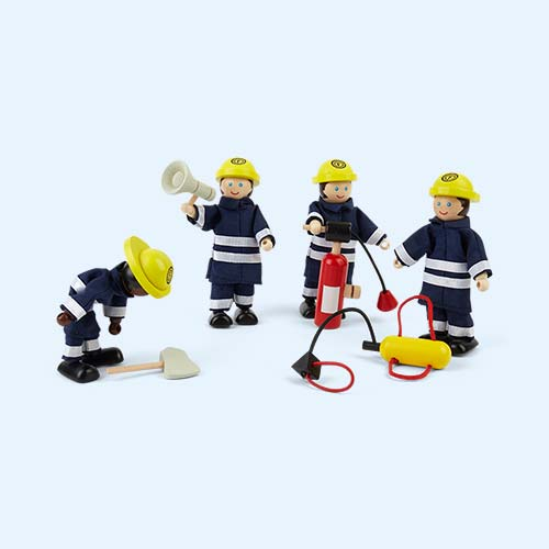 Blue Tidlo Firefighters Play Set