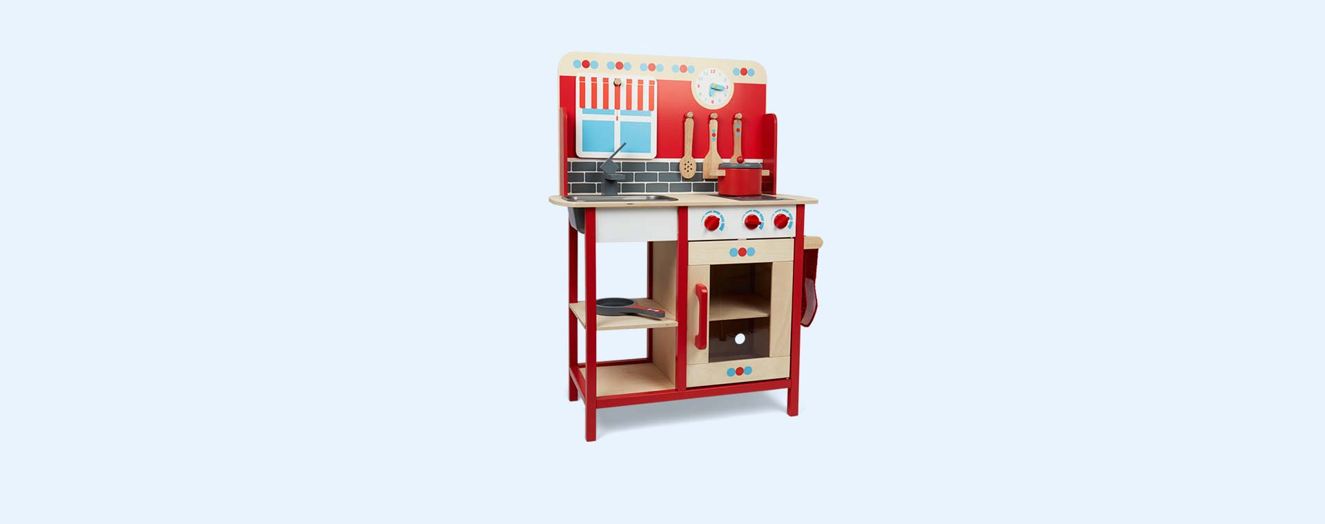 Red Bigjigs Play Kitchen