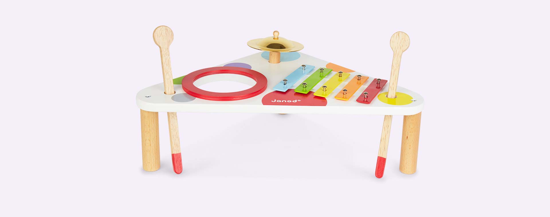 Multi Janod Confetti Musical Table