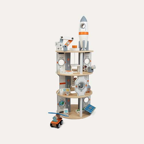 White Tidlo Space Station Play Set