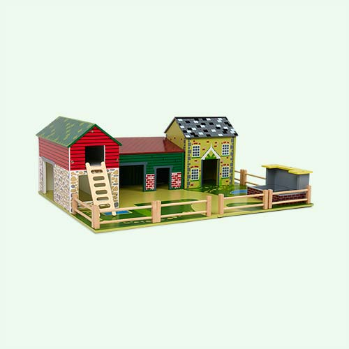Multi Tidlo Oldfield Farm Play Set