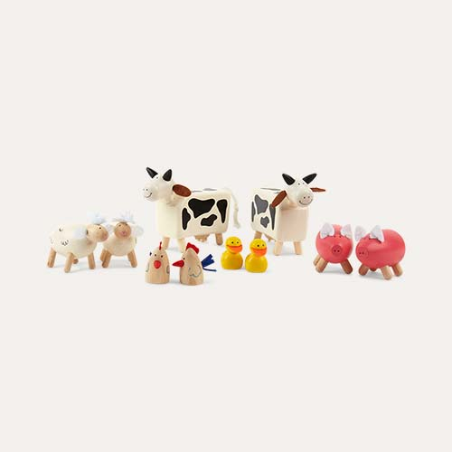 Multi Tidlo Farm Animals Play Set