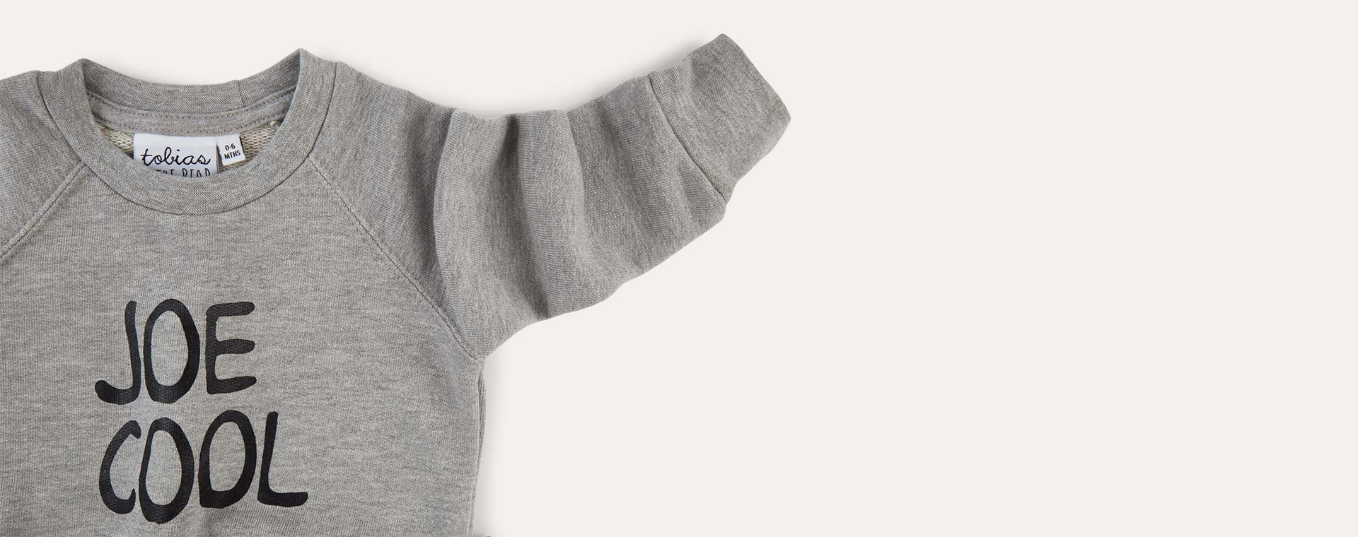 Grey tobias & the bear Joe Cool Sweatshirt