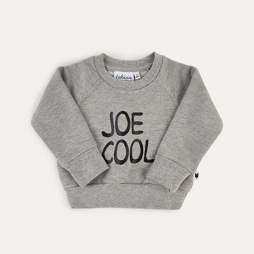 Grey tobias & the bear Joe Cool Sweatshirt